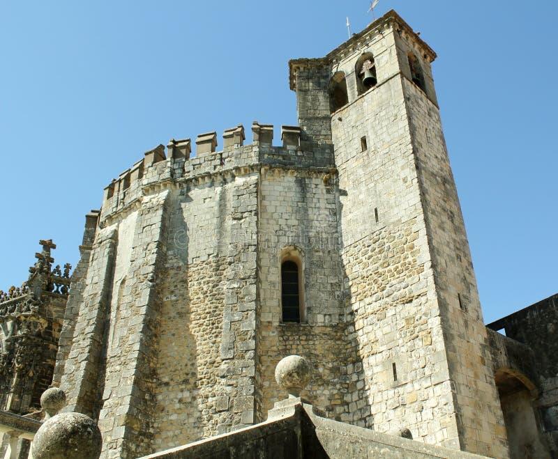 Slottklockatorn royaltyfri foto