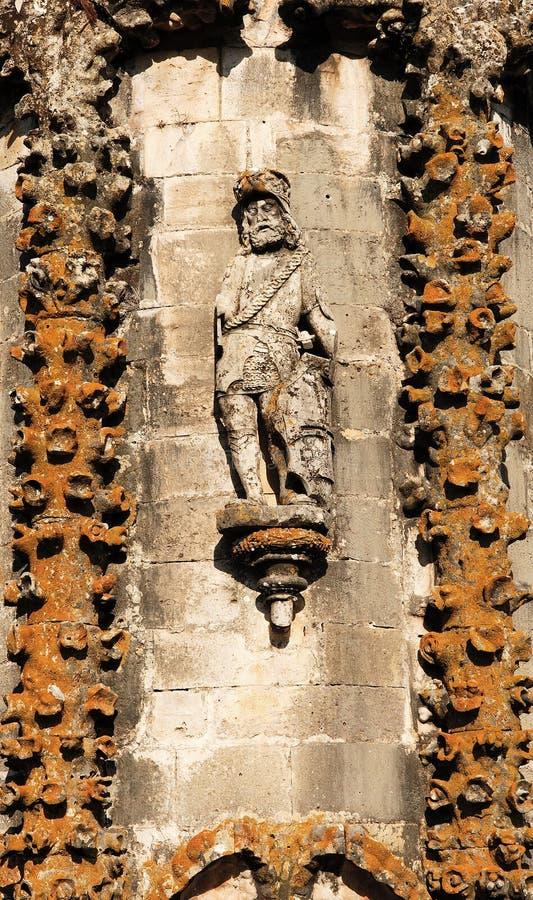 slottkloster tomar portugal arkivbilder