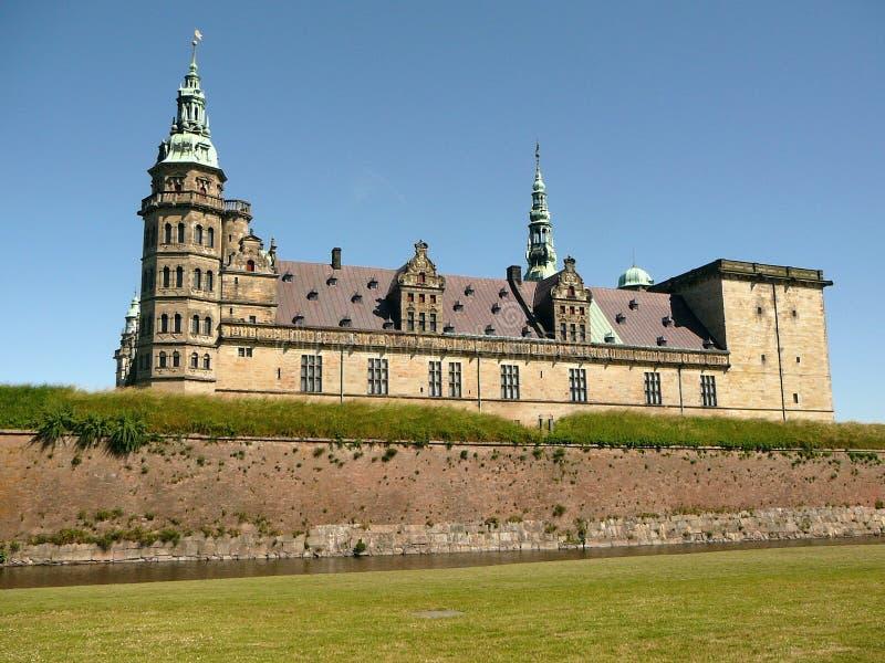 slottkronborg royaltyfri fotografi