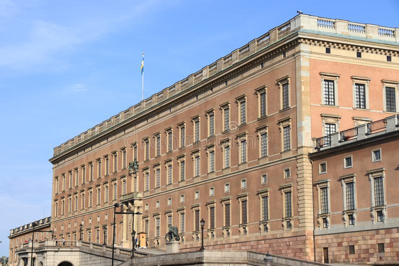 slottkunglig person stockholm royaltyfri fotografi