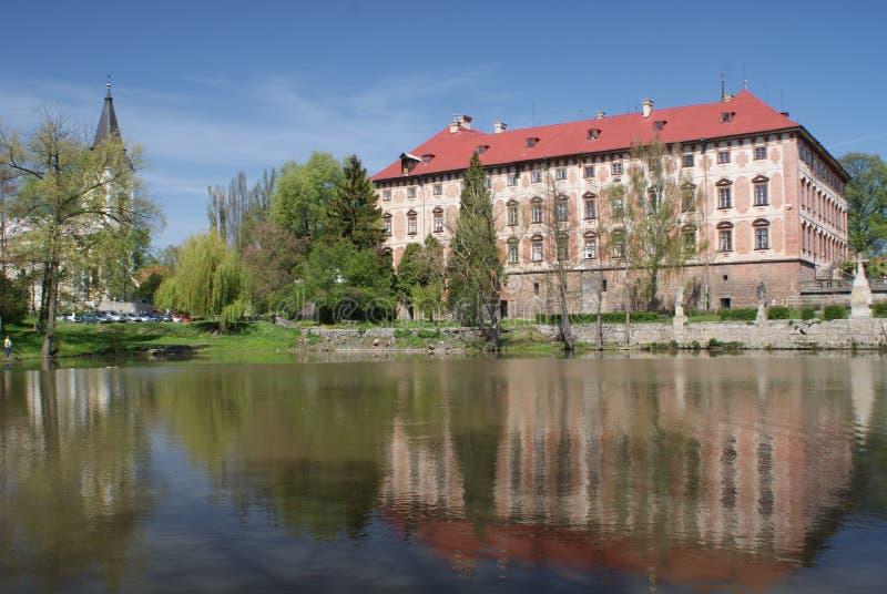 slottlibochovice fotografering för bildbyråer