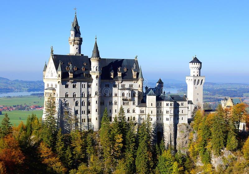 slottneuschwanstein fotografering för bildbyråer
