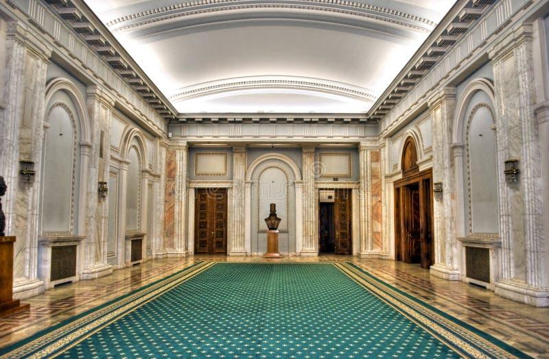 slottparlament royaltyfri foto