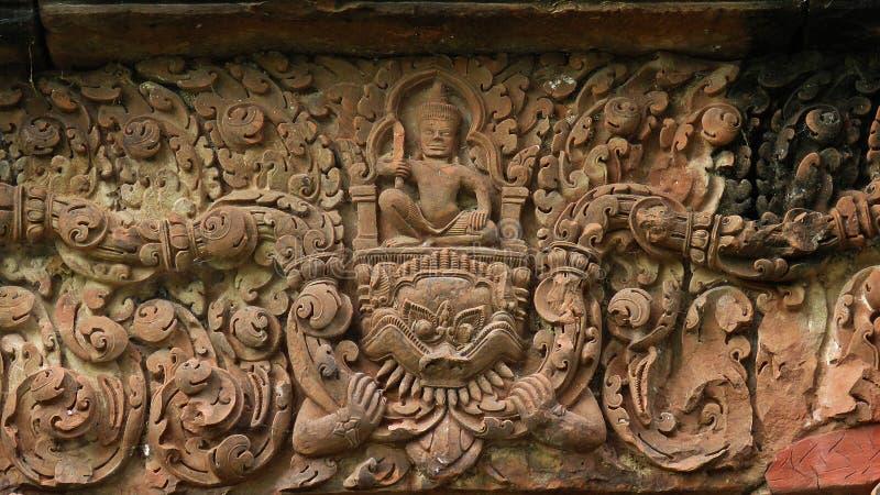 SlottPueai Noi/Ku pueai noi på Khon Kaen royaltyfri bild