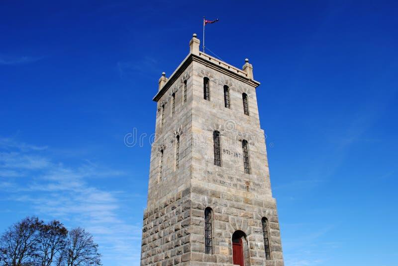 Slottsfjell塔在Tonsberg,挪威 库存照片