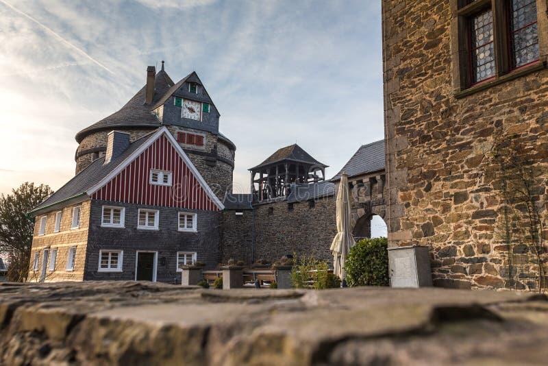 slottsmåstadsolingen Tyskland fotografering för bildbyråer