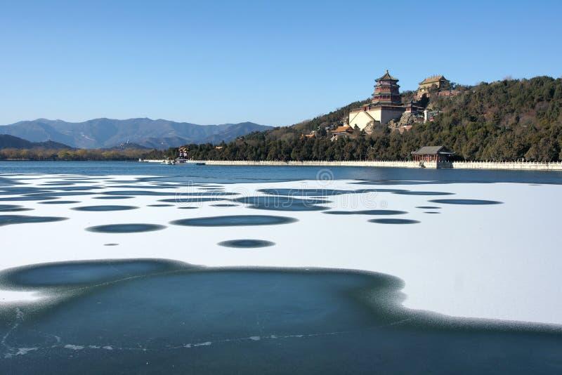 Download Slottsommar arkivfoto. Bild av vinter, pagoda, trädgård - 22353448