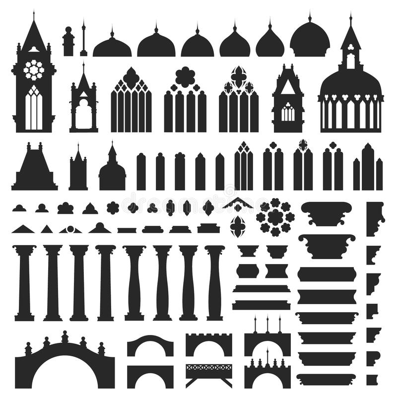 Slotttappningvektor royaltyfri fotografi