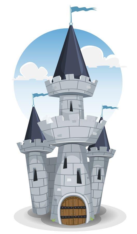 Slotttorn vektor illustrationer