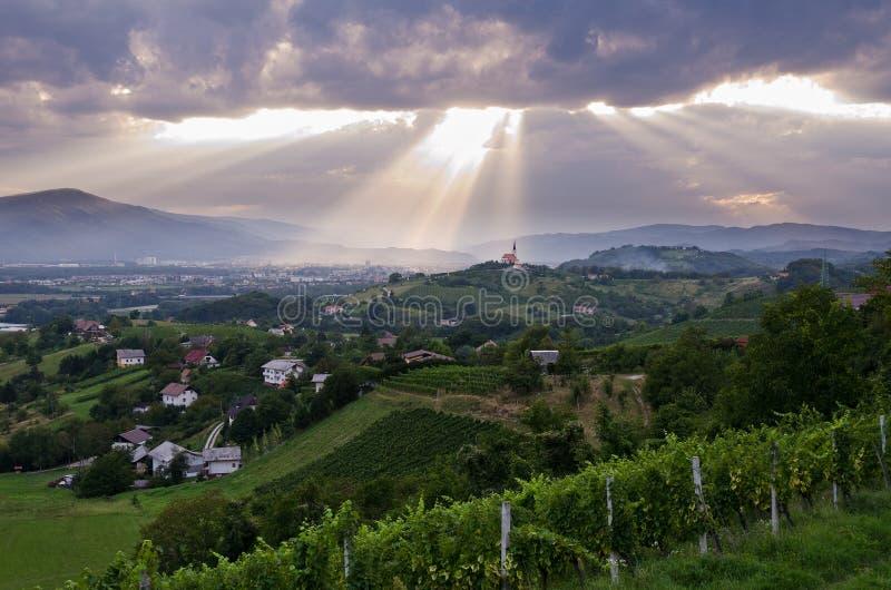 Slovénie image libre de droits
