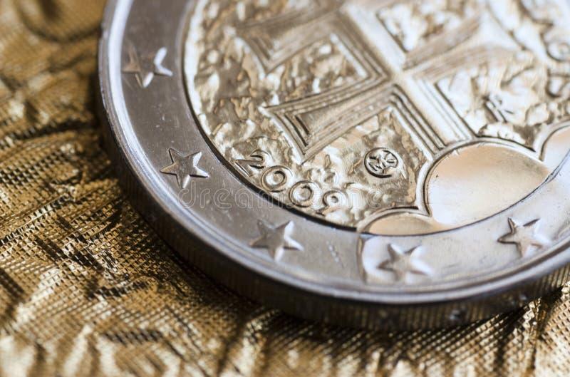 slovak евро стоковое изображение