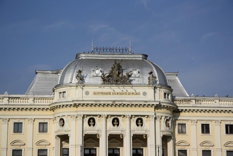 Download Slovak National Theater stock image. Image of slovak - 30692831