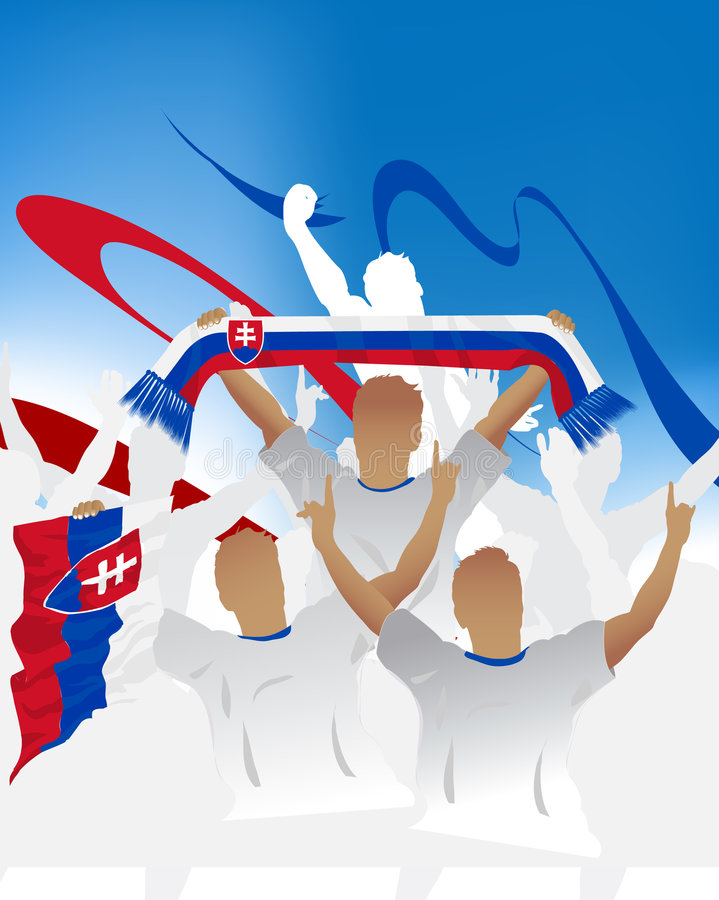Download Slovakia crowd stock vector. Image of illustration, celebration - 6618440