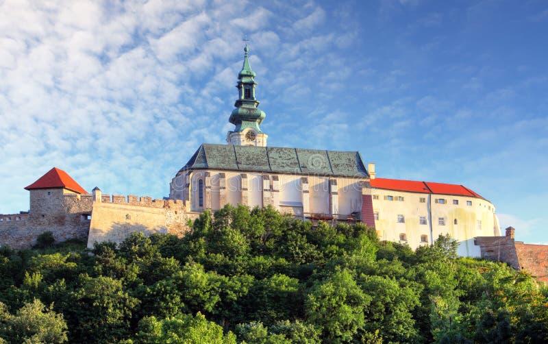 Slovakia - Nitra castle stock photos