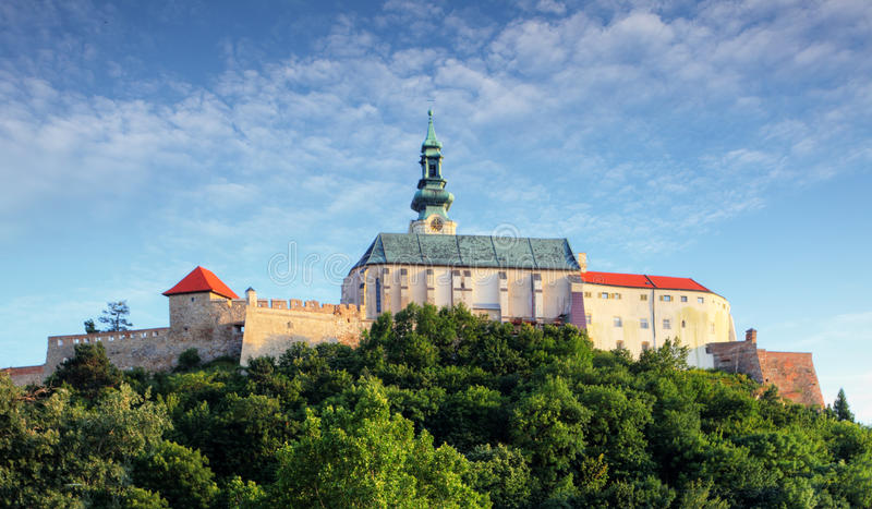 Slovakia - Nitra castle. At day stock images