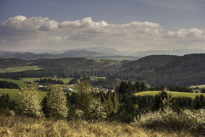 Slovakian landscapes stock photo