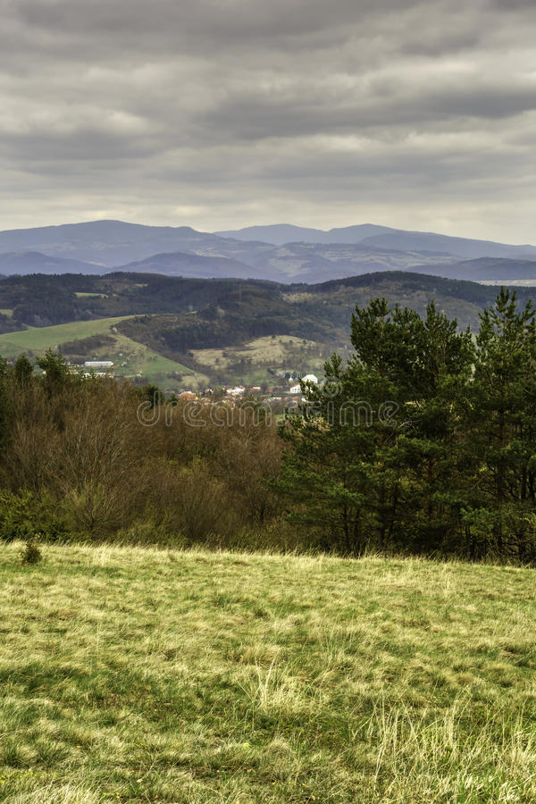 Slovakian landscapes royalty free stock image