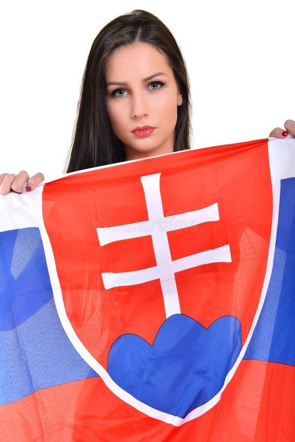 Slovakian Fan stock photography