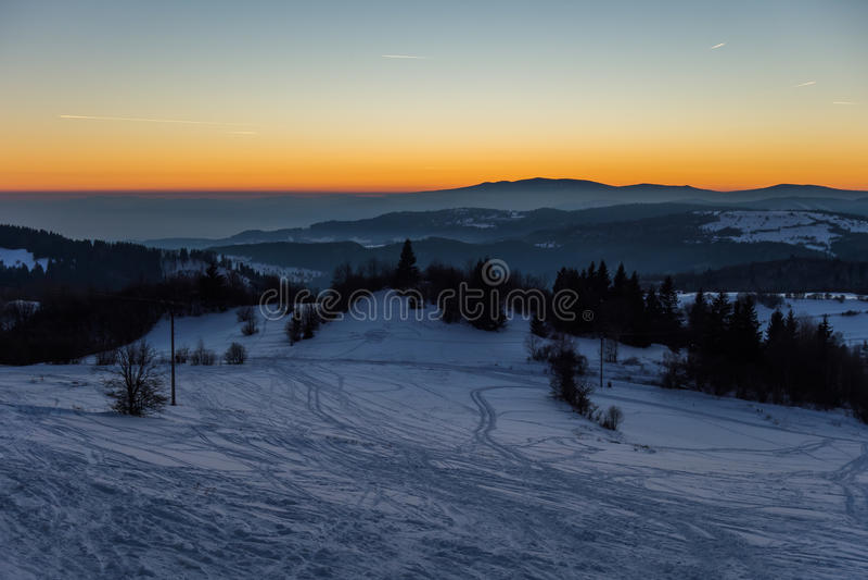 Slovakian landscapes stock image