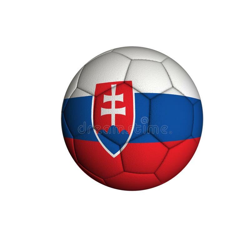 Slovakien fotboll royaltyfri bild