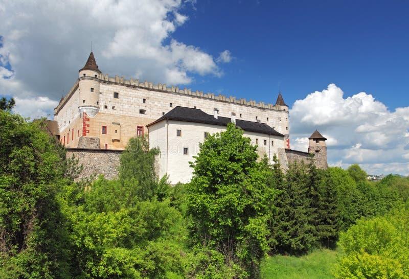 Slovakien - Zvolen slott arkivfoton