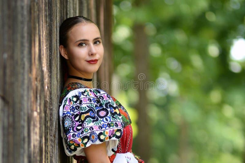 Slovakisk folklore arkivfoton