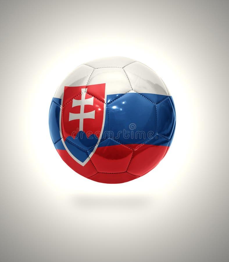 Slovakisk fotboll royaltyfri illustrationer
