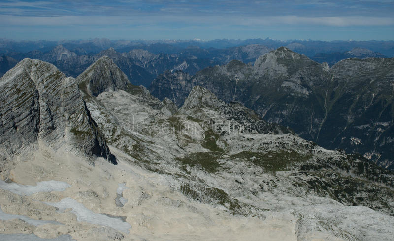 In the Slovenia Alps royalty free stock photography