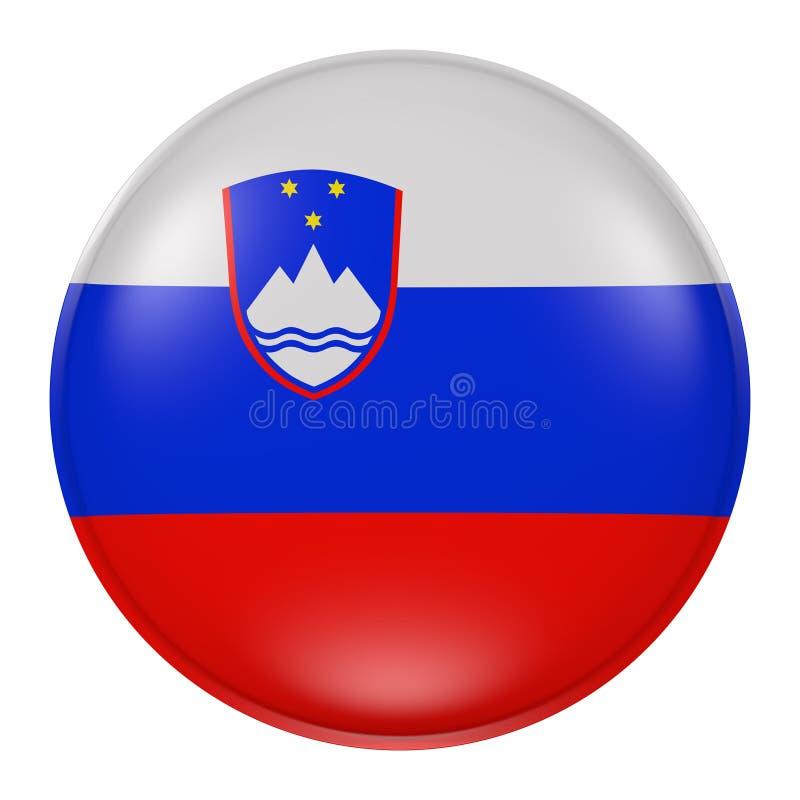 Slovenien knapp royaltyfri illustrationer