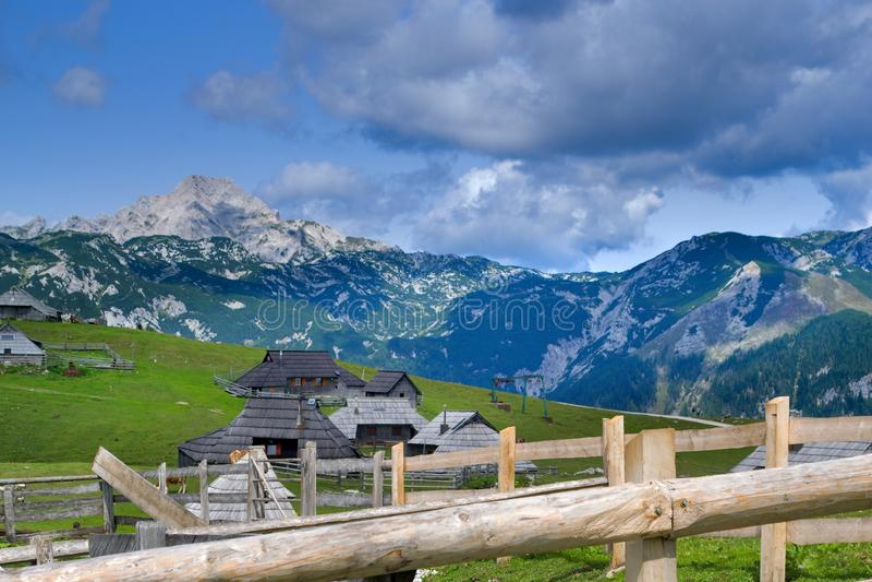 Slovenska berg royaltyfri fotografi