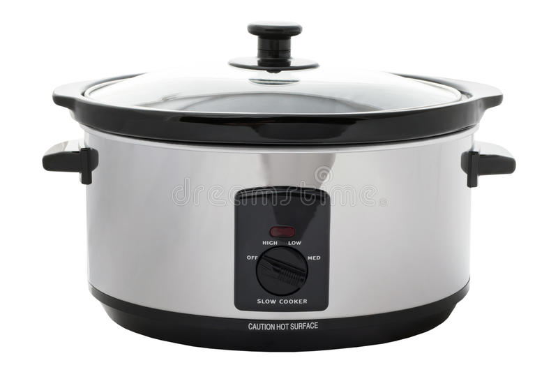 Slow Cooker Isolated royalty free stock photo