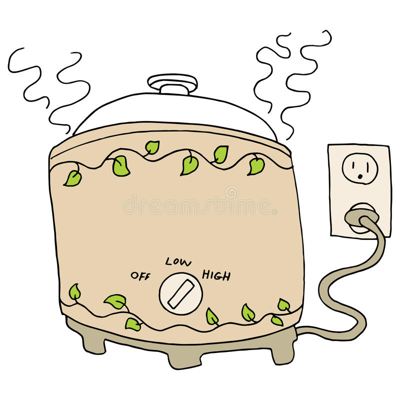 Free Slow Cooker Pot Stock Photo - 39635260