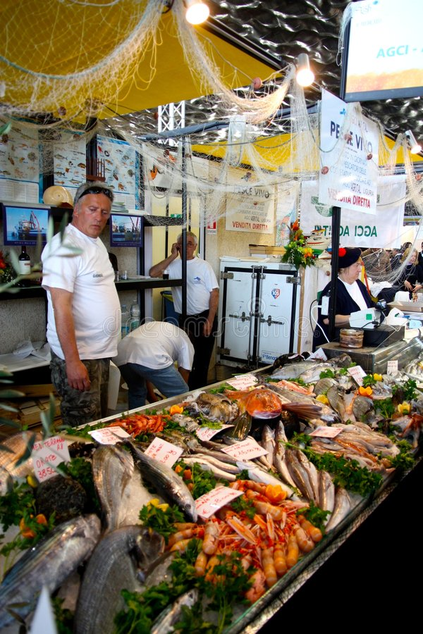 Free Slow Fish 2009, Genoa, Italy Stock Images - 9041504