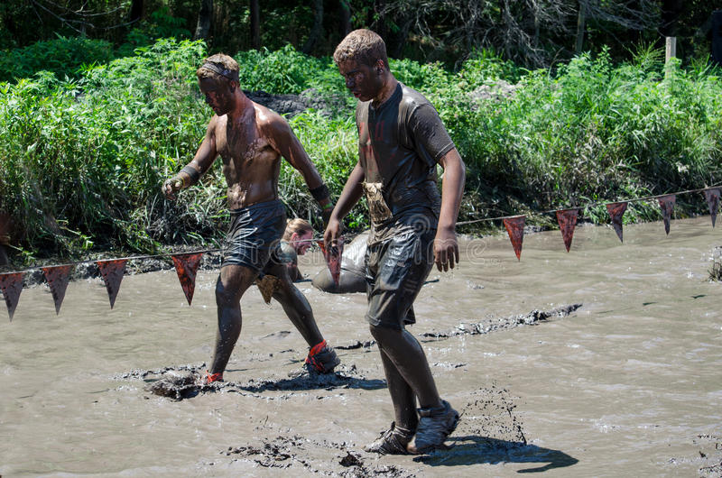 Download Slow going mud editorial stock image. Image of exciting - 25854574