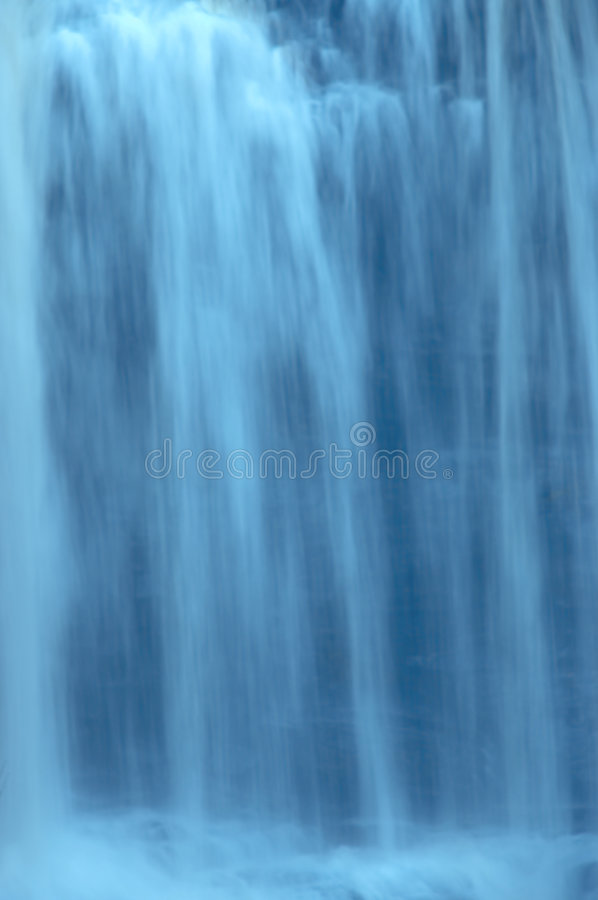 Slow Motion Waterfall royalty free stock photography