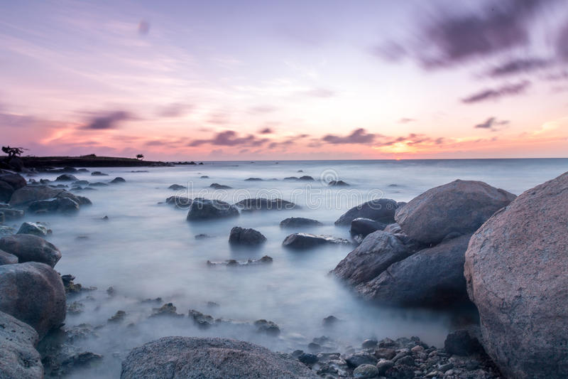 Slow Sunset stock photo