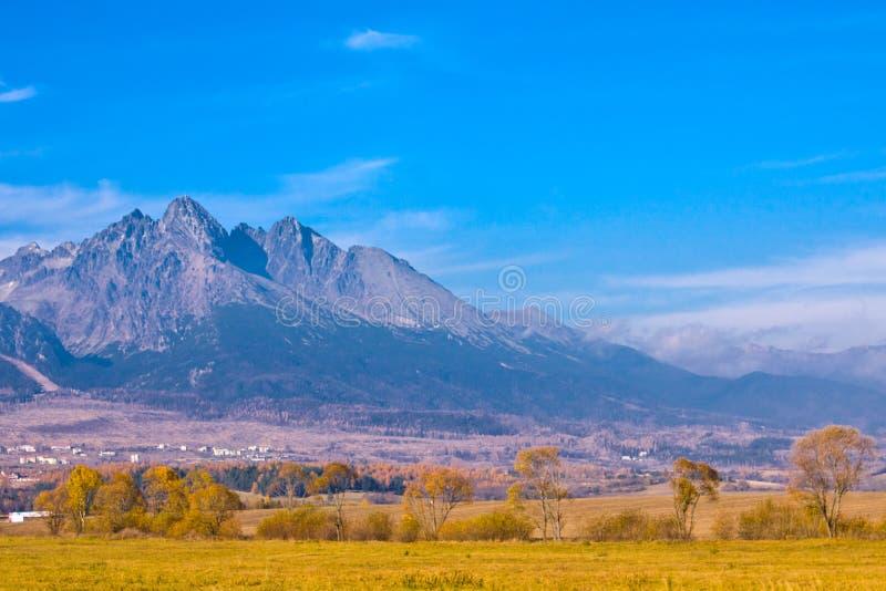 Slowakei-hoher Mountain View lizenzfreies stockfoto