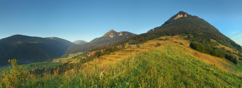 Slowakei-Natur - Terchova lizenzfreie stockfotografie