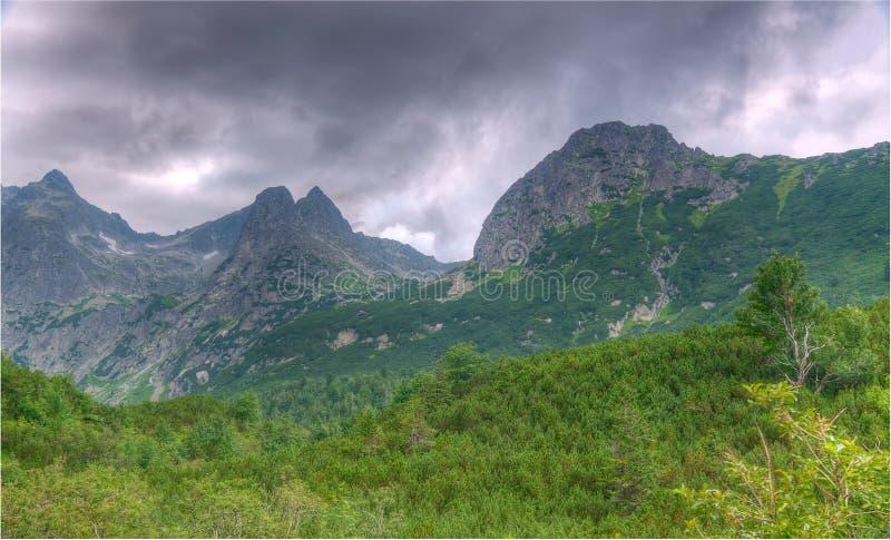 Slowakische Berge stockfotos