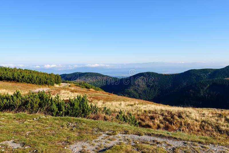 Download Slowakische Karpatenberge Im Herbst Sonnige Bergkuppen In Der Summe Stockfoto - Bild von serene, ruhe: 106800246