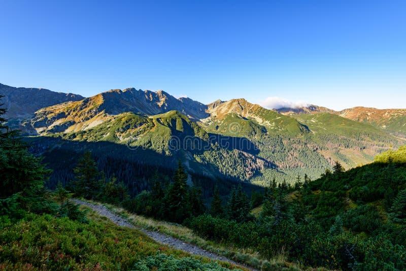 Download Slowakische Karpatenberge Im Herbst Sonnige Bergkuppen In Der Summe Stockbild - Bild von stein, slowakei: 106800319