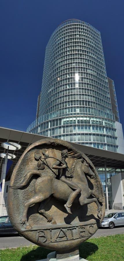 Slowakisches National Bank stockfotografie