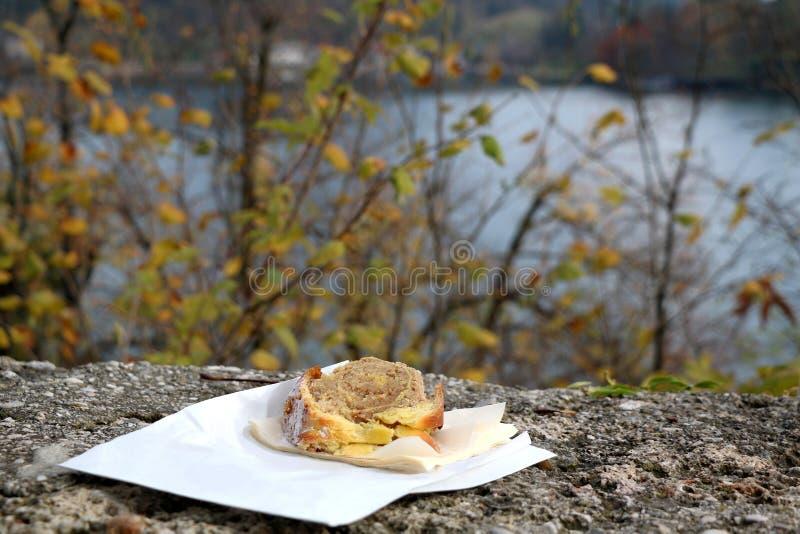 Slowenisch Kuchen stockfotografie