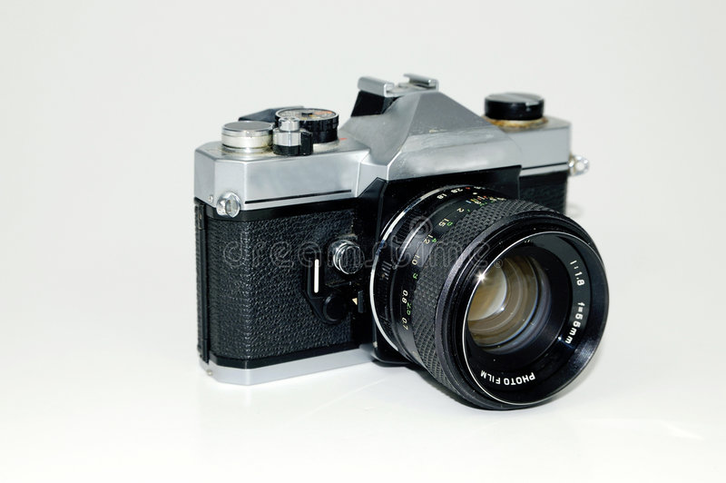 SLR Camera royalty free stock image
