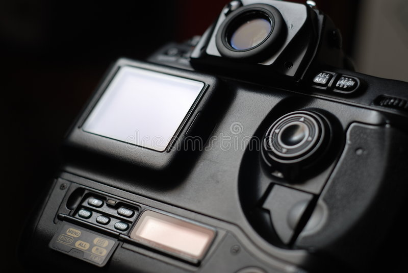 SLR Kamera lizenzfreie stockfotos