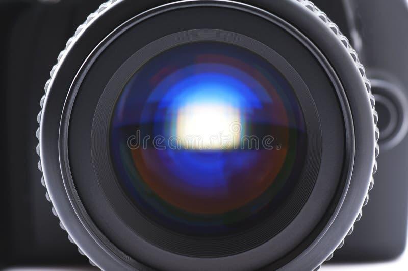 SLR kamery obiektyw obrazy stock