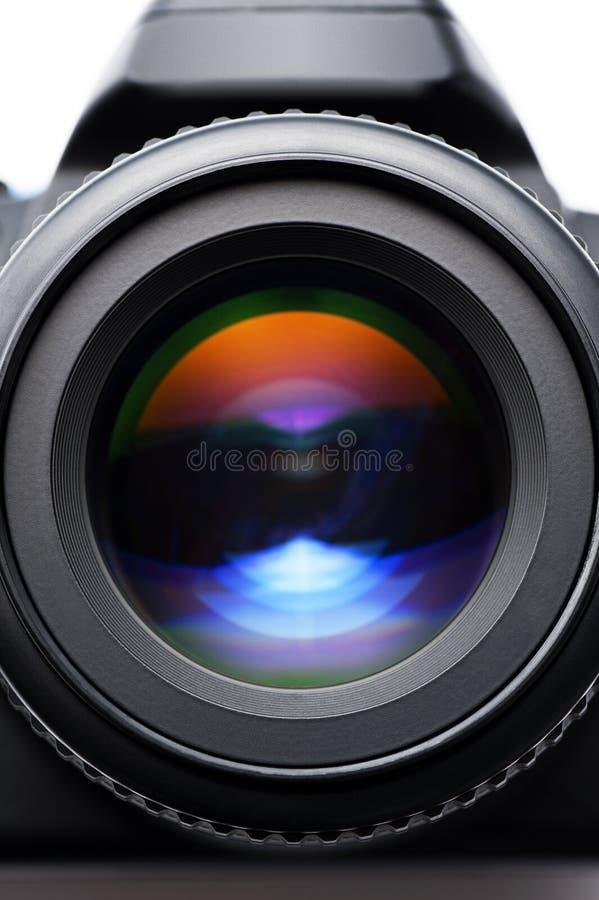 SLR kamery obiektyw zdjęcie royalty free