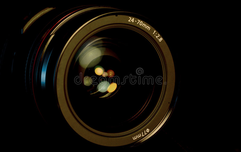 SLR Kamery Obiektyw zdjęcie stock