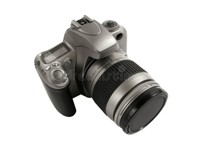 Download SLR Photgraphic Camera Stock Photo - Image: 1408650