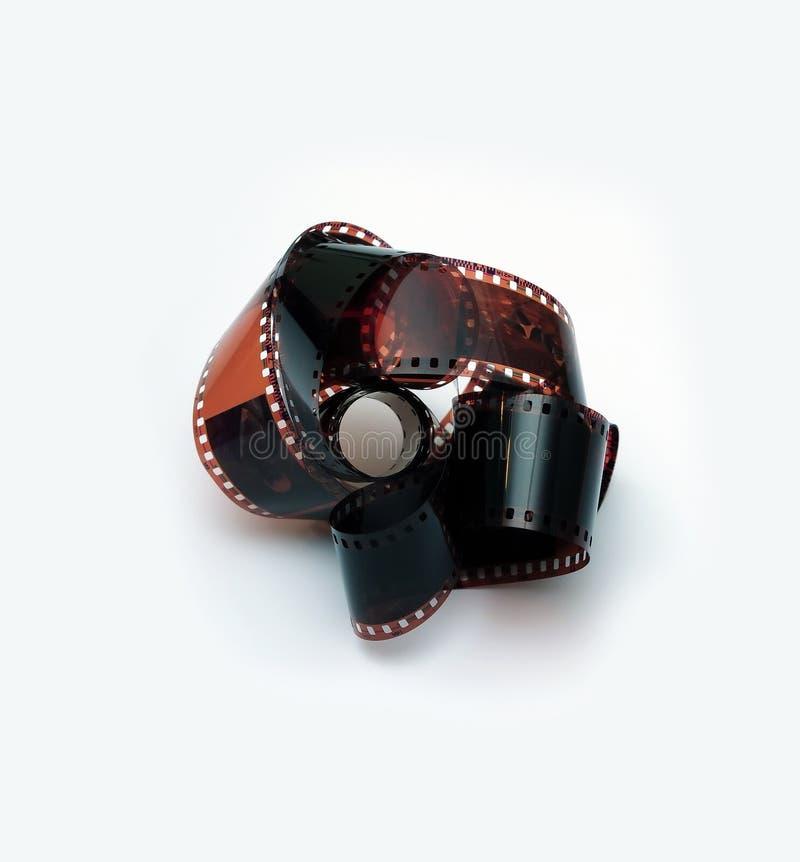 Slrcamera met film stock afbeelding